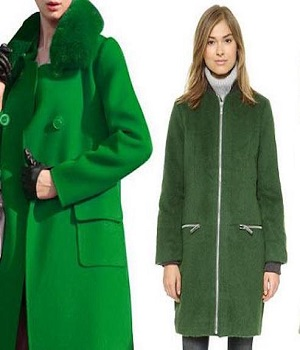 چگونه پالتو زنانه سبز بپوشیم؟